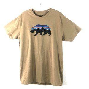 Patagonia Roy Bear Slim Fit T Shirt Size L